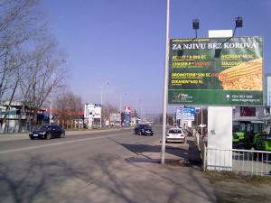Bilbord Leskovac LE-10a