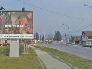 Bilbord Gornji Milanovac GM-02